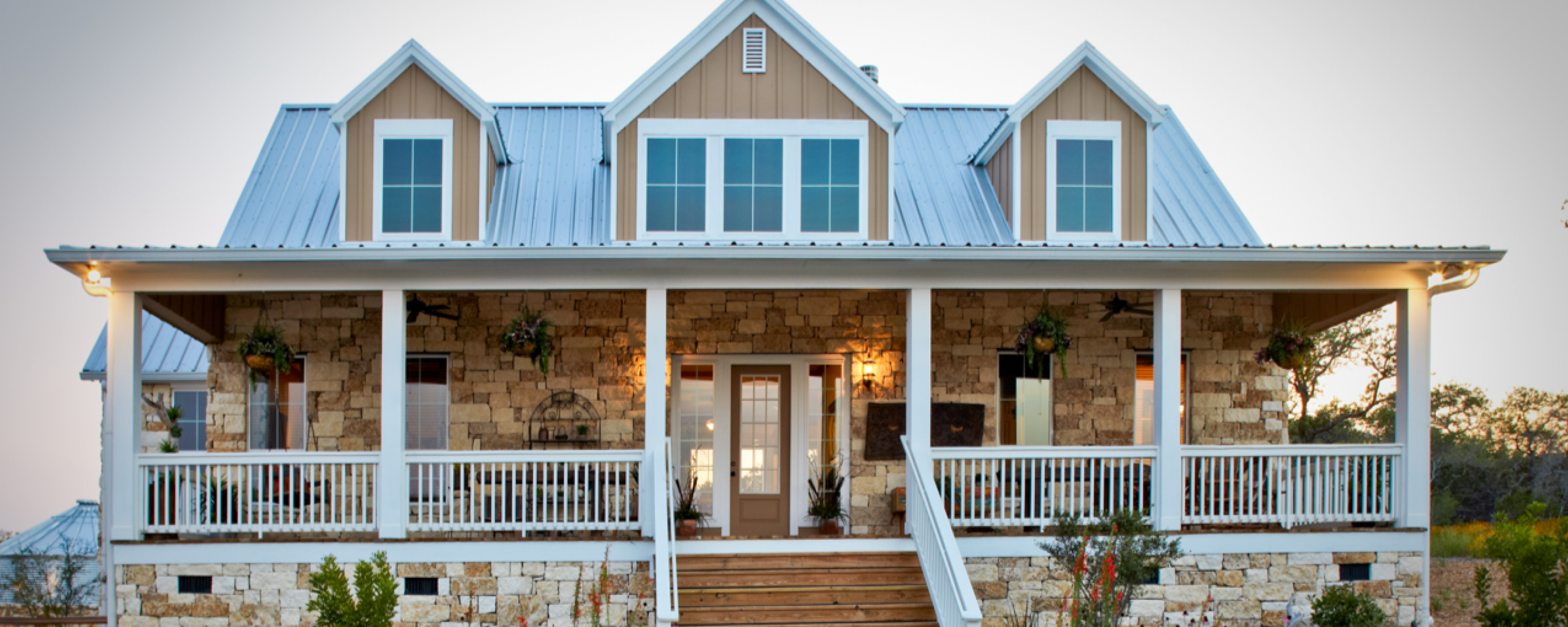 Texas hill country model home park texas casual cottages for Texas cottages builder